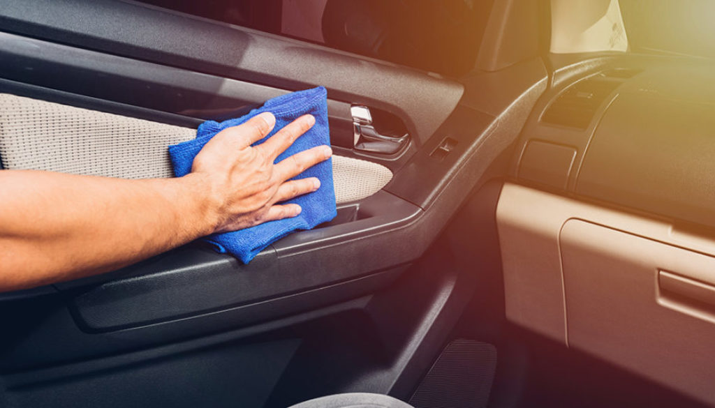 Tips for cleaning the vehicle