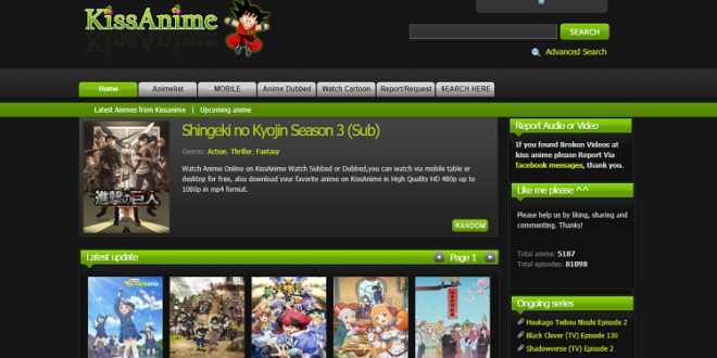 Kissanime the best kissanime alternatives site for watching anime movies
